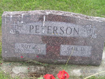PETERSON, ROY C. - Worth County, Iowa | ROY C. PETERSON