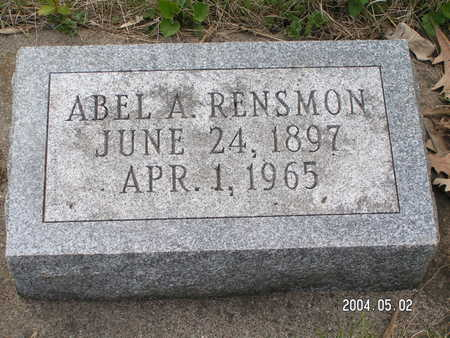 RENSMON, ABEL A. - Worth County, Iowa | ABEL A. RENSMON