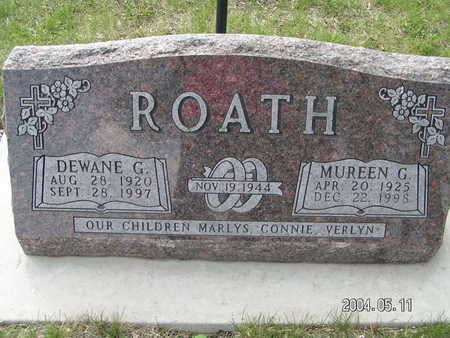 ROATH, DEWANE G. - Worth County, Iowa | DEWANE G. ROATH