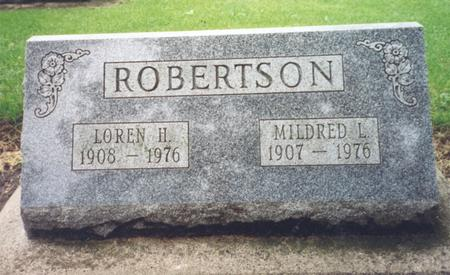 ROBERTSON, MILDRED - Worth County, Iowa | MILDRED ROBERTSON