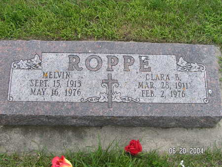 ROPPE, CLARA B. - Worth County, Iowa | CLARA B. ROPPE