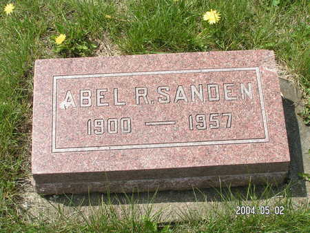 SANDEN, ABEL R. - Worth County, Iowa | ABEL R. SANDEN