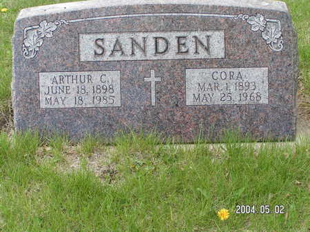 SANDEN, ARTHUR C. - Worth County, Iowa | ARTHUR C. SANDEN