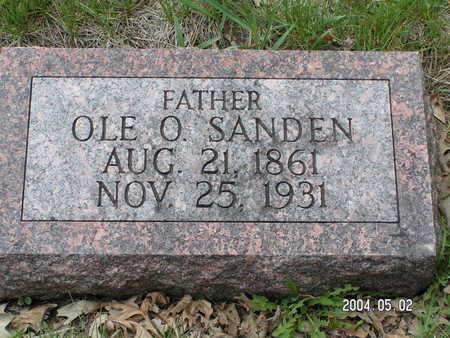 SANDEN, OLE O. - Worth County, Iowa | OLE O. SANDEN