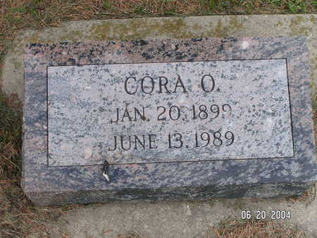 SETER, CORA O. - Worth County, Iowa | CORA O. SETER