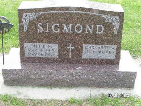 SIGMOND, PHILIP N. - Worth County, Iowa | PHILIP N. SIGMOND