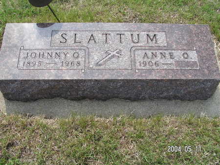 SLATTUM, JOHNNY O. - Worth County, Iowa | JOHNNY O. SLATTUM