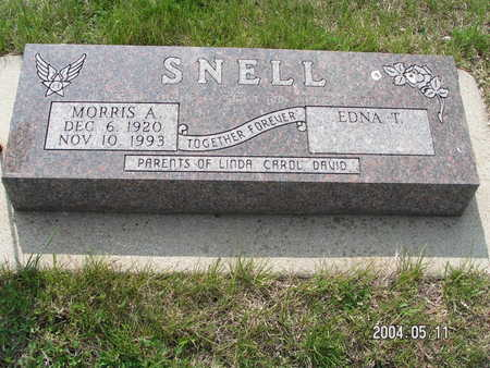 SNELL, MORRIS A. - Worth County, Iowa | MORRIS A. SNELL