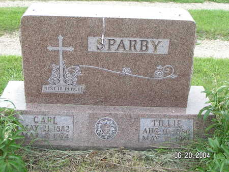 SPARBY, CARL - Worth County, Iowa | CARL SPARBY