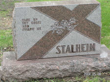 STALHEIM, FAMILY STONE - Worth County, Iowa | FAMILY STONE STALHEIM