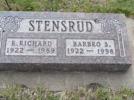 STENSRUD, E. RICHARD - Worth County, Iowa | E. RICHARD STENSRUD