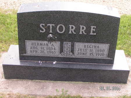 STORRE, REGINA - Worth County, Iowa | REGINA STORRE