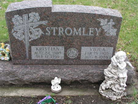 STROMLEY, KRISTIAN - Worth County, Iowa | KRISTIAN STROMLEY