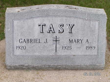 TASY, MARY A. - Worth County, Iowa | MARY A. TASY