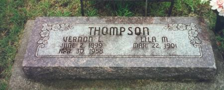 THOMPSON, LILA - Worth County, Iowa | LILA THOMPSON