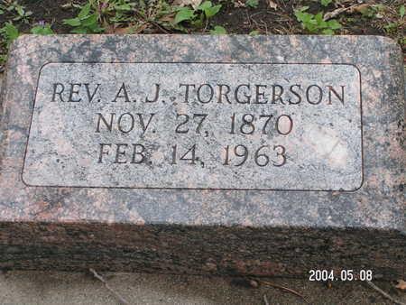 TORGERSON, REV. A.J. - Worth County, Iowa | REV. A.J. TORGERSON
