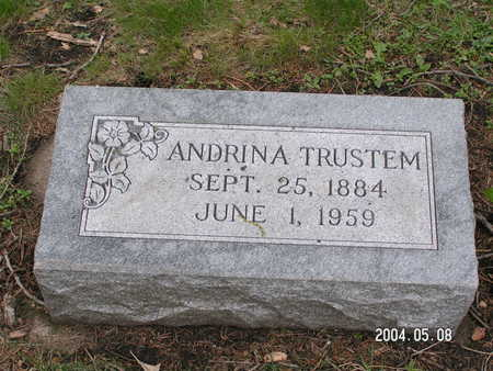 TRUSTEM, ANDRINA - Worth County, Iowa | ANDRINA TRUSTEM