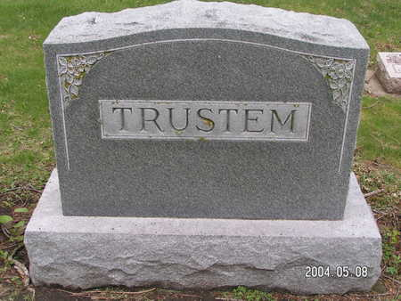 TRUSTEM, (FAMILY STONE) - Worth County, Iowa | (FAMILY STONE) TRUSTEM