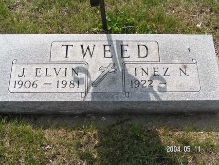 TWEED, J. ELVIN - Worth County, Iowa | J. ELVIN TWEED