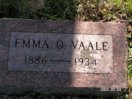 VAALE, EMMA O. - Worth County, Iowa | EMMA O. VAALE