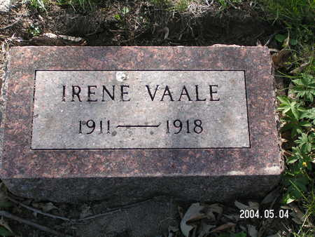 VAALE, IRENE - Worth County, Iowa | IRENE VAALE