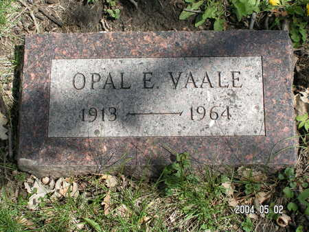 VAALE, OPAL E. - Worth County, Iowa | OPAL E. VAALE