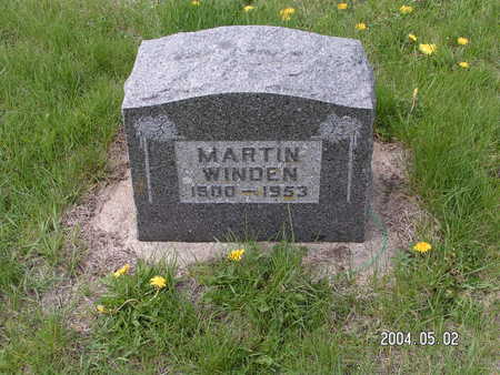 WINDEN, MARTIN - Worth County, Iowa | MARTIN WINDEN