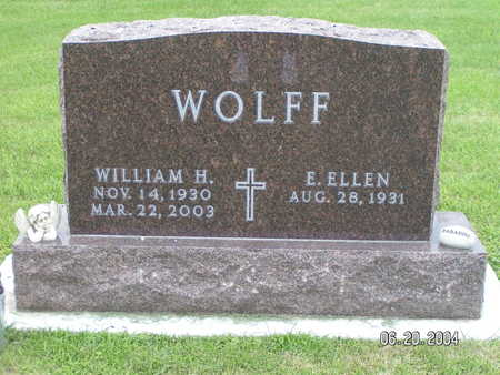 WOLFF, WILLIAM H. - Worth County, Iowa | WILLIAM H. WOLFF
