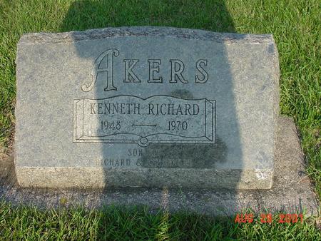 AKERS, KENNETH RICHARD - Wright County, Iowa | KENNETH RICHARD AKERS