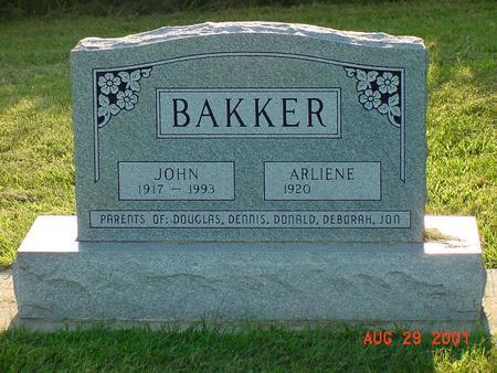 BAKKER, ARLIENE - Wright County, Iowa | ARLIENE BAKKER