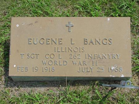 BANGS, EUGENE L. - Wright County, Iowa | EUGENE L. BANGS