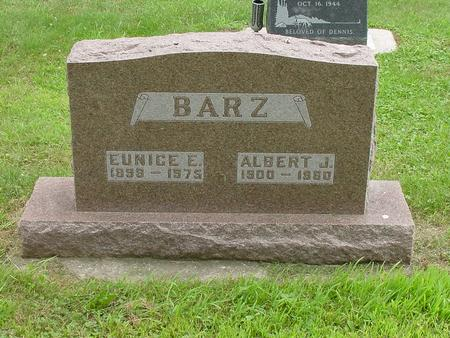 BARZ, ALBERT JOHN - Wright County, Iowa | ALBERT JOHN BARZ