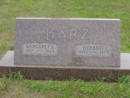 BARZ, MARGARET E. - Wright County, Iowa | MARGARET E. BARZ