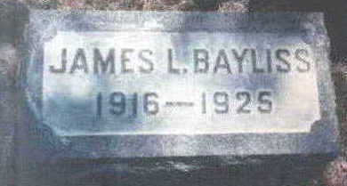 BAYLISS, JAMES L - Wright County, Iowa | JAMES L BAYLISS