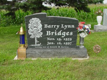 BRIDGES, BARRY LYNN - Wright County, Iowa | BARRY LYNN BRIDGES