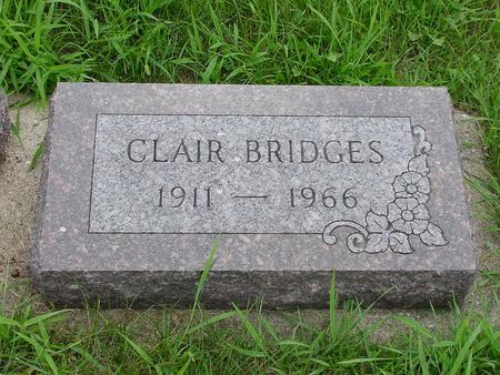 BRIDGES, CLAIR - Wright County, Iowa | CLAIR BRIDGES