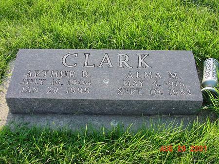 CLARK, ALMA M - Wright County, Iowa | ALMA M CLARK