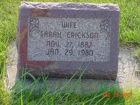 ERICKSON, SARAH - Wright County, Iowa | SARAH ERICKSON