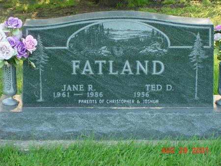 FLATLAND, TED D. - Wright County, Iowa | TED D. FLATLAND