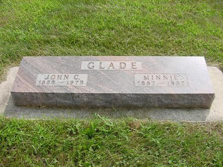GLADE, MINNIE - Wright County, Iowa | MINNIE GLADE