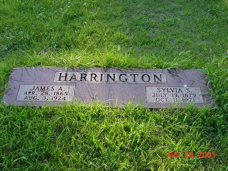 HARRINGTON, JAMES A. - Wright County, Iowa | JAMES A. HARRINGTON