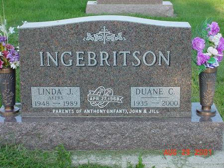 INGEBRITSON, DUANE C. - Wright County, Iowa | DUANE C. INGEBRITSON