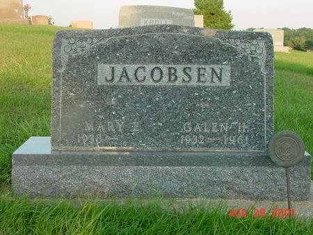 JACOBSEN, GALEN H. - Wright County, Iowa | GALEN H. JACOBSEN
