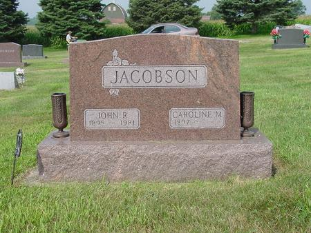 JACOBSON, CAROLINE M. - Wright County, Iowa | CAROLINE M. JACOBSON