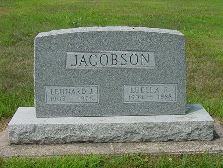 JACOBSON, LUELLA R. - Wright County, Iowa | LUELLA R. JACOBSON