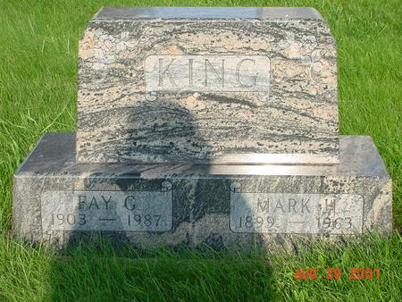 KING, MARK H. - Wright County, Iowa | MARK H. KING