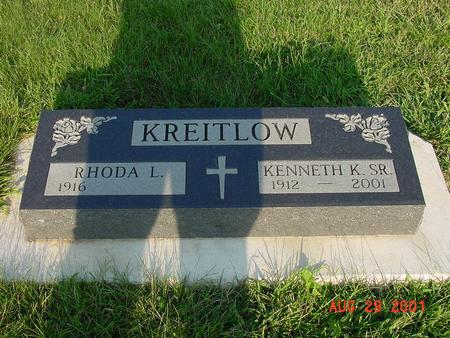 KREITLOW, KENNETH K. SR. - Wright County, Iowa | KENNETH K. SR. KREITLOW
