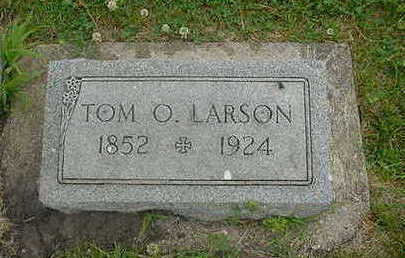 LARSON, TOM O. - Wright County, Iowa | TOM O. LARSON