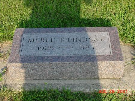 LINDSAY, MERE T. - Wright County, Iowa | MERE T. LINDSAY