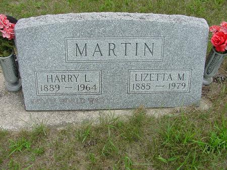 MARTIN, LIZETTA M. - Wright County, Iowa | LIZETTA M. MARTIN